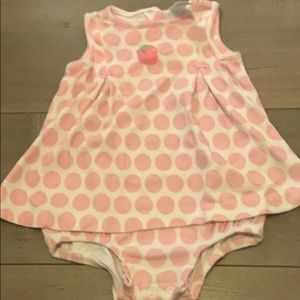 Buy 2 items for $10Super cute carter baby dress